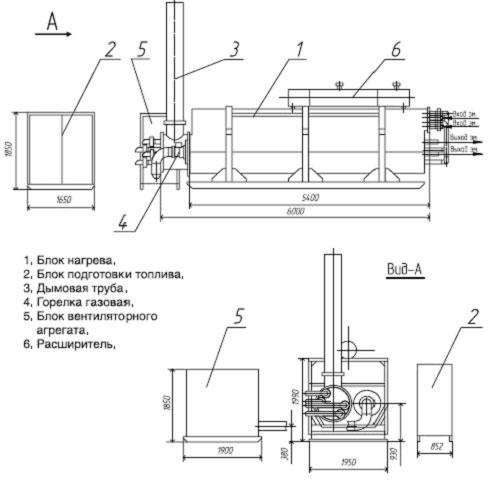 Подогреватель состоит из следующих основных частей. системы автоматизации.  Нефть из промысловой... блока подготовки...